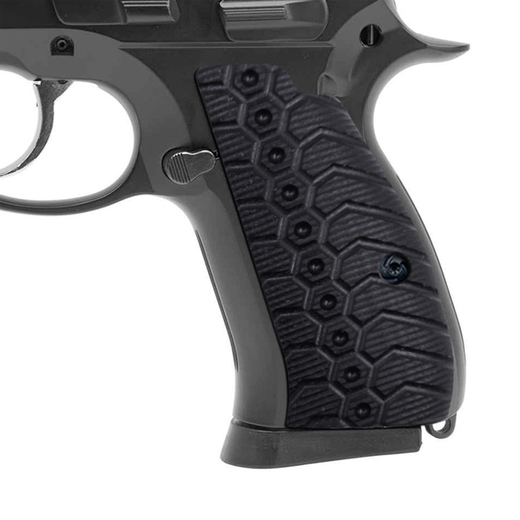 CZ 75 85 Compact Size custom G10 <strong>gun</strong> grips cz 75 <strong>holster</strong>, Mechanical texture SP-01