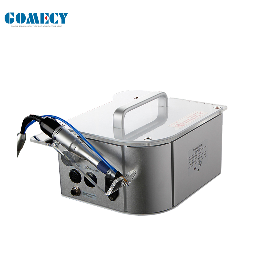 GOMECY Portable Polish Nail Drill Easy handle Electric Manicure Pedicure with water spray