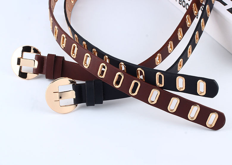 Factory direct new corns ladies pin buckle belt belt fashion wild jeans decorative belt custom wholesale