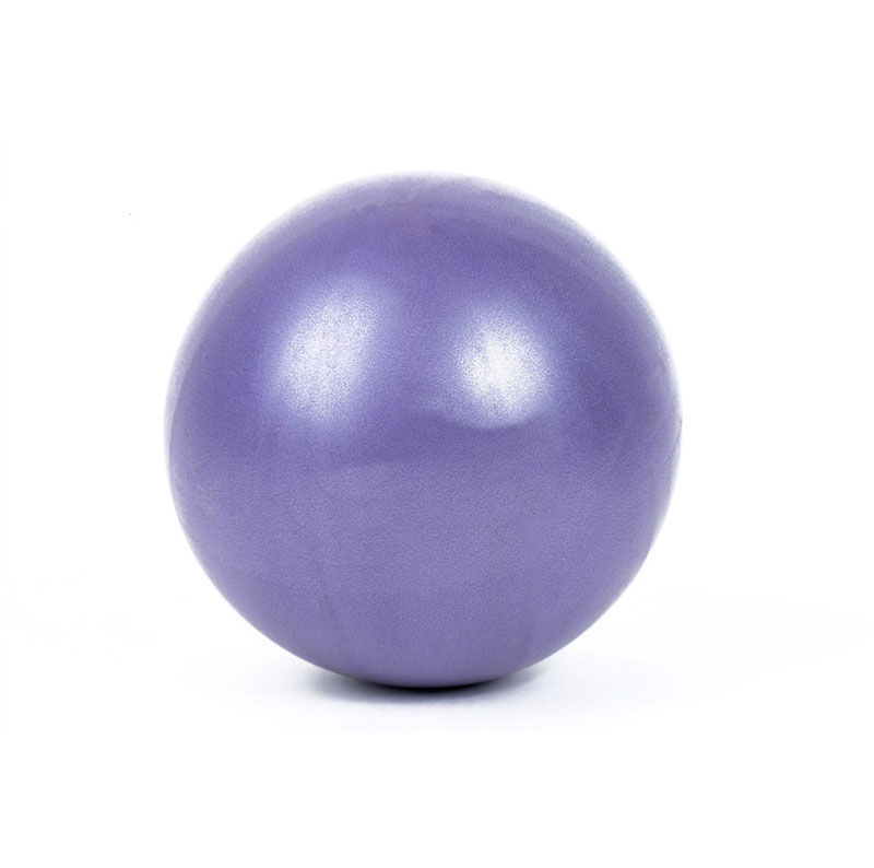 25cm Mini <strong>yoga</strong> <strong>Ball</strong> for Pilates,Stability Exercise Training Gym with Inflatable Straw