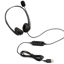 Commercio All'ingrosso Professionale Del Computer Via Cavo Call Center Cuffia <span class=keywords><strong>Usb</strong></span> Stereo con Il Mic