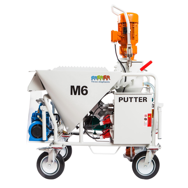 Automática de Gesso Máquina de Pulverização De Argamassa de Cimento