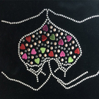 Custom rhinestone heat transfer designs for clothes with oeko-tex certification