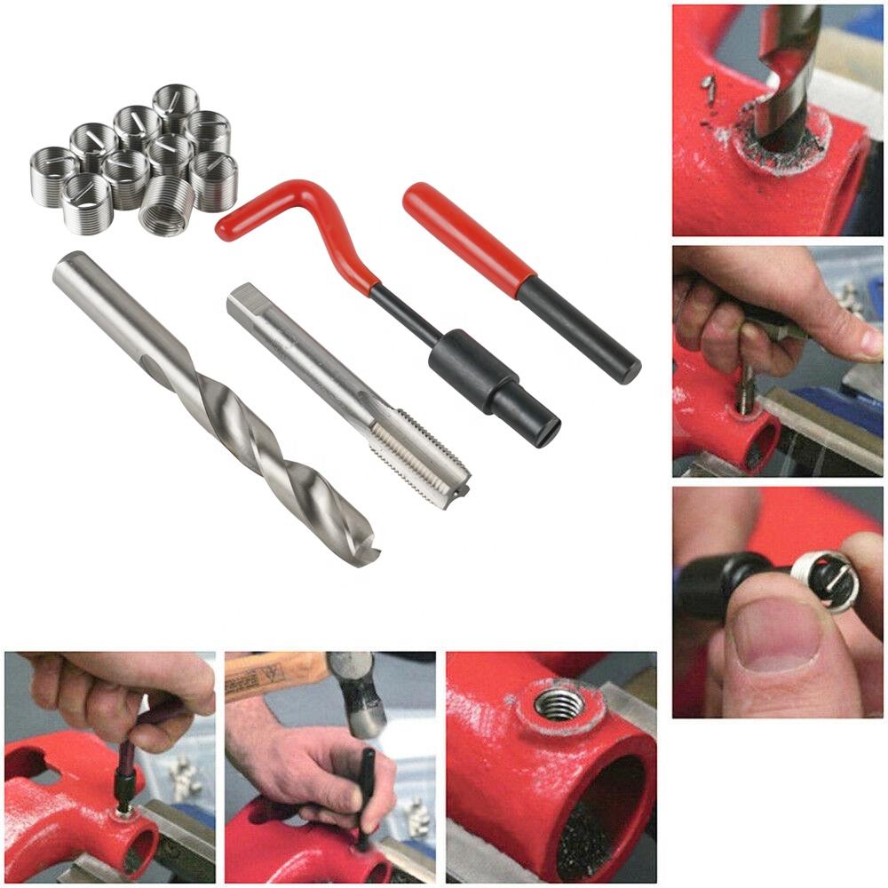 NiceCNC Universal M14x1.5mm bobina herramientas de rosca métrica reparación Kit inserto