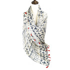 Scarf Woman Women's Fashion And Soft Touch Printed Long Scarf