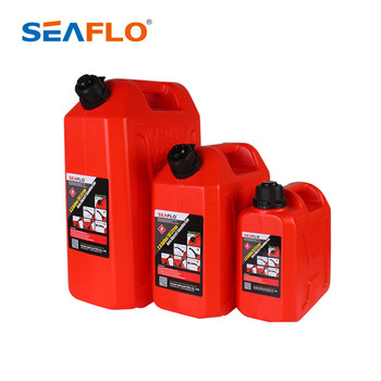 SEAFLO 20L Automatic Shut Off Plastic Jerry Can/Gasoline Fuel Tank