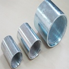 Multi-specifications rigid conduit couplings of pipe fittings joint with ANSI standard UL listed electro zinc coating