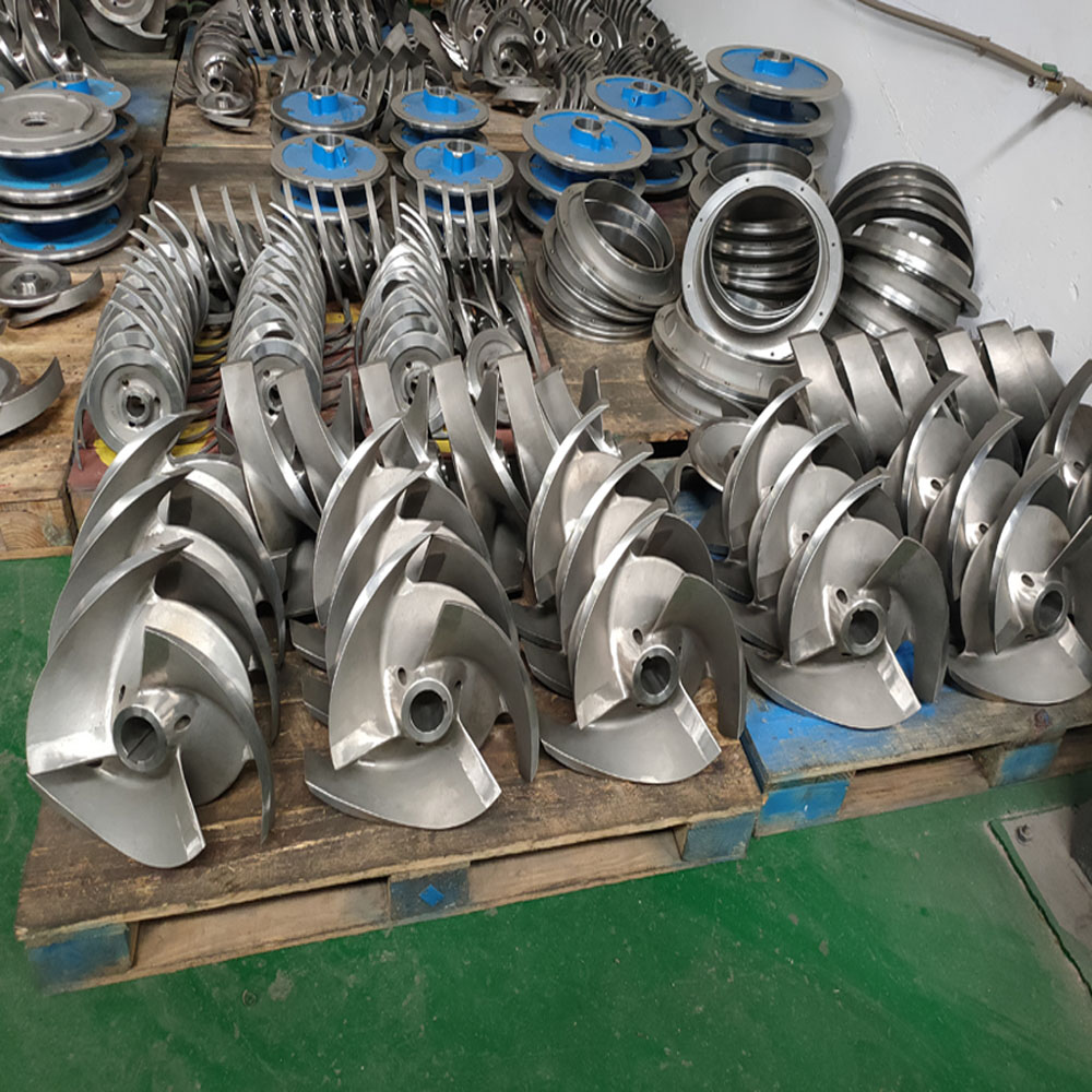 Custom Stainless Steel Precision Pump Hardware Accessories Impeller Narrow Channel Centrifugal Pump Pump Accessories