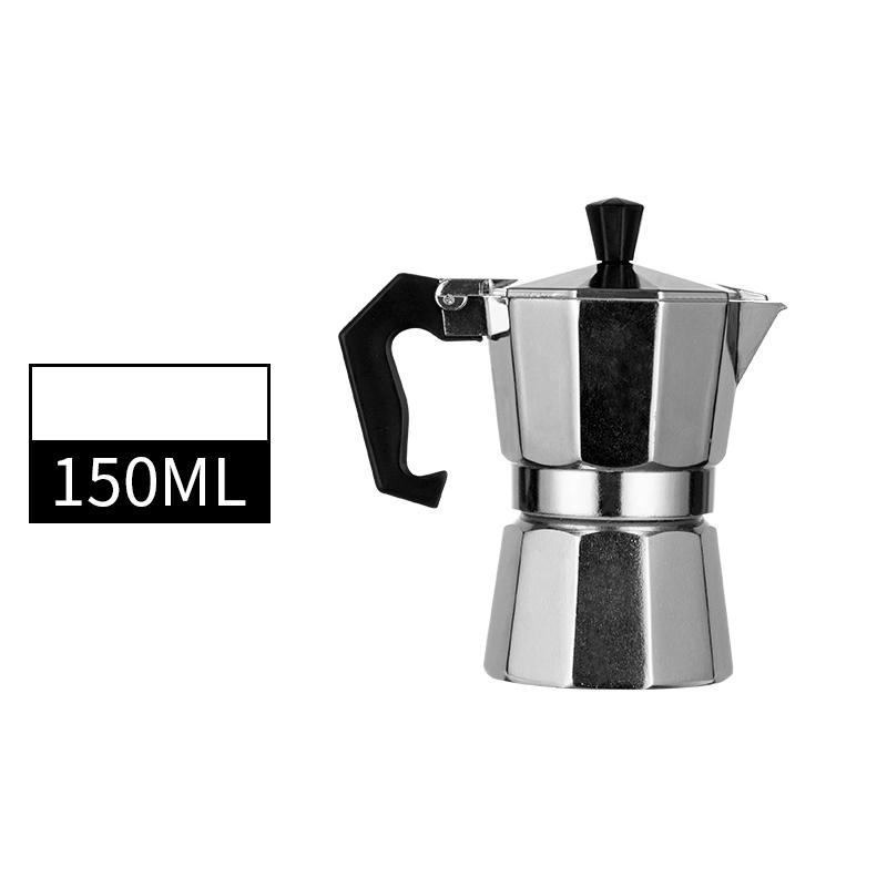 Кофе производитель прочный Moka Cafeteira Кофеварка горшок практичный Moka Кофе горшок 50/100/150/300/450/600 мл(Китай)