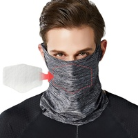 Enerup Unisex Cooling Woman Colorful Sports Earloop Neck Gaiter Anti Dust Bandana Scarf Face Cover Shield Mask