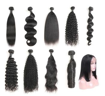 Ali hair express Peruvian hair virgin straight bundles10a with closure unprocessed peruvian hair bundles with frontal