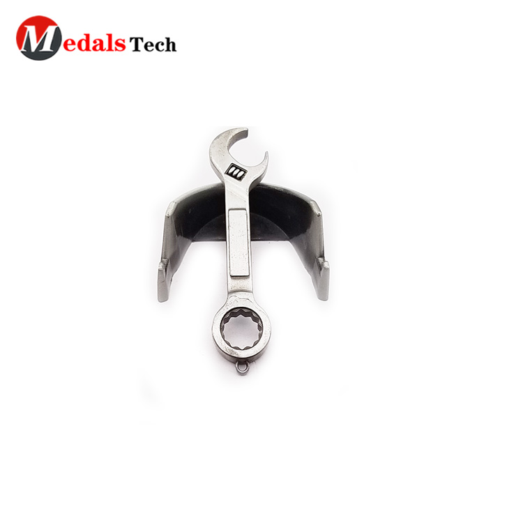 In stock  custom zinc alloy metal cheap beer 3D cow head bottle opener with laser logo