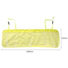 Органайзер для багажника автомобиля, регулируемая сумка для хранения заднего сиденья, большая сетчатая ткань, многофункциональные автомоб...(Китай)
