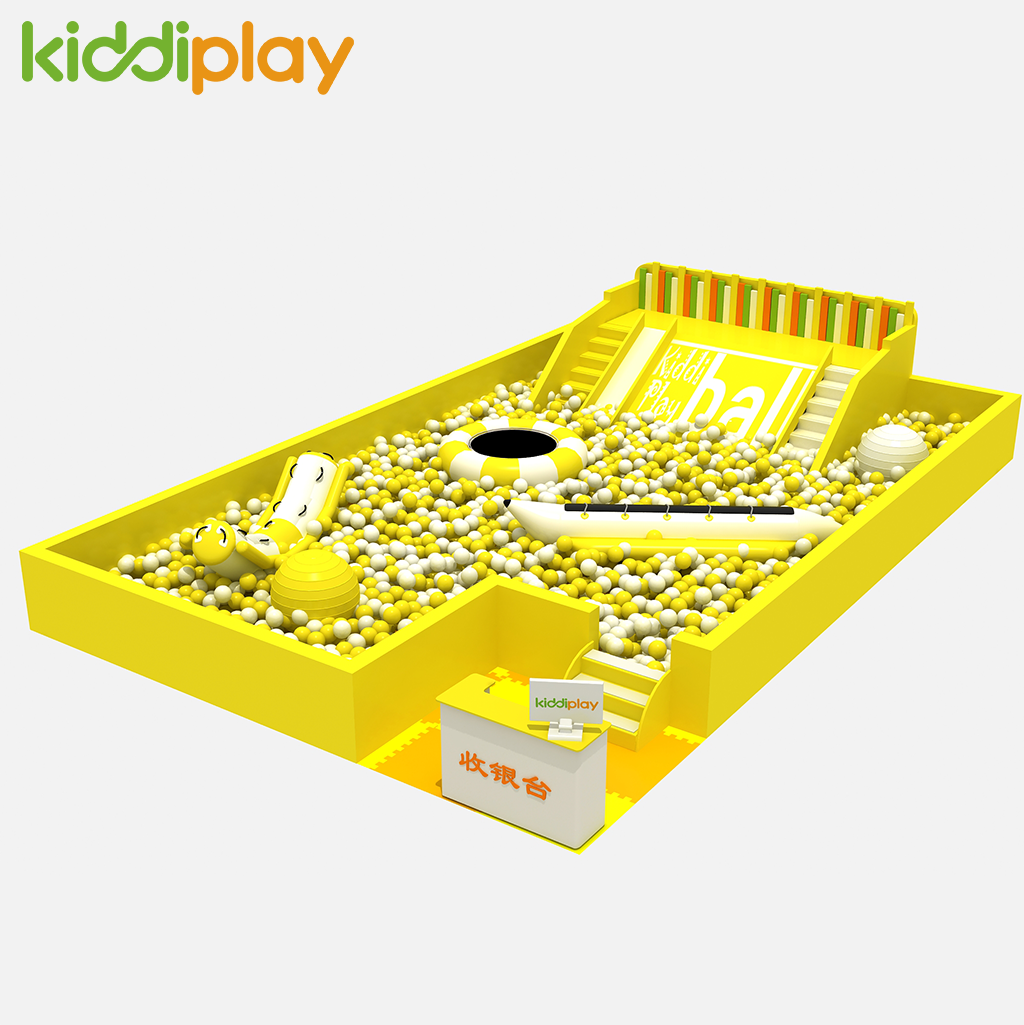 Precio de fábrica de los niños juegos de interior feliz colorido perro bola piscina Patio