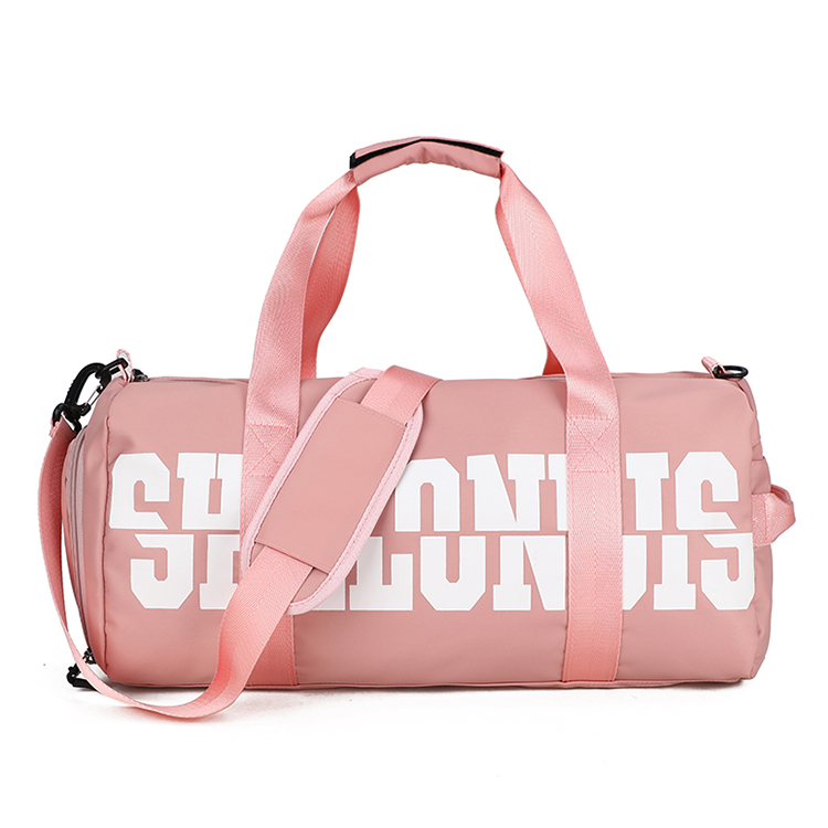 Zipper sports travel bag shoes duffle bag portable hand travel bag