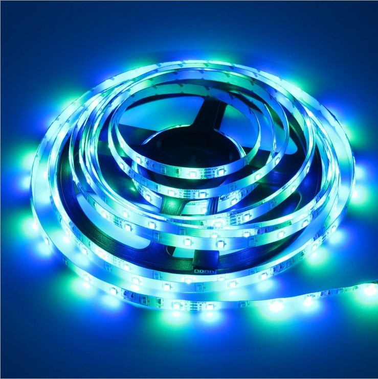 New Products 2020 5M SMD2835 Waterproof 12V RGB LED Strip Lights with Remote Control for TV Decoration