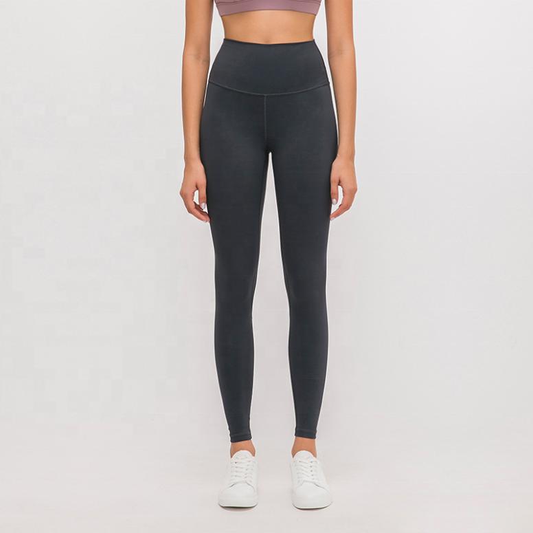 Super High Quality Custom Logo Yoga Pants Women Adaptable High Waist Sport Tights Soft Naked-Feel Womens Leggings Gym