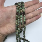 High quality loose beads wholesale6mm8mm10mm12mm natural green opal jewelry DIY Bracelet Necklace Earrings