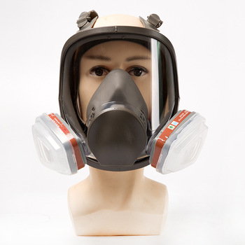 full face respiratory mask Painting Spraying Safety Respirator Gas Mask same as 6800 Gas Mask Full Face Facepiece Respirator