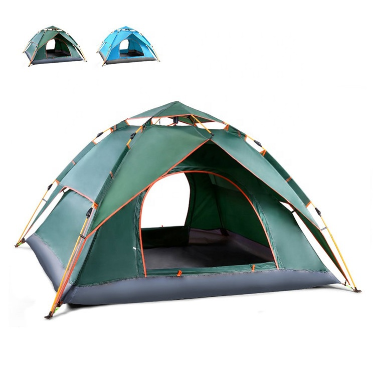 3-4 people family gathering outdoor tent double-use