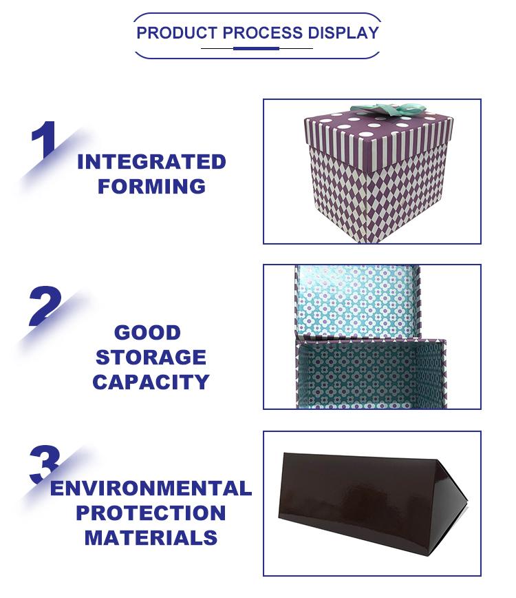 Grosir Custom Logo Folding Kertas Hitam Kemasan Datar Mewah Magnetik Kotak Hadiah