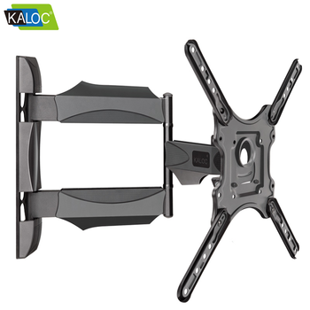 Swivel Folding Down Full Motion Articulating TV Wall Bracket for Flat Panel Screen 32 to 55 inch TV Size max vesa 400*400