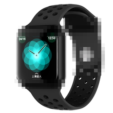 Pacemaker Prijs Smart <span class=keywords><strong>Armband</strong></span> F8 Smart Horloge Hartslagmeter Waterdicht Touch Screen Smartwatch