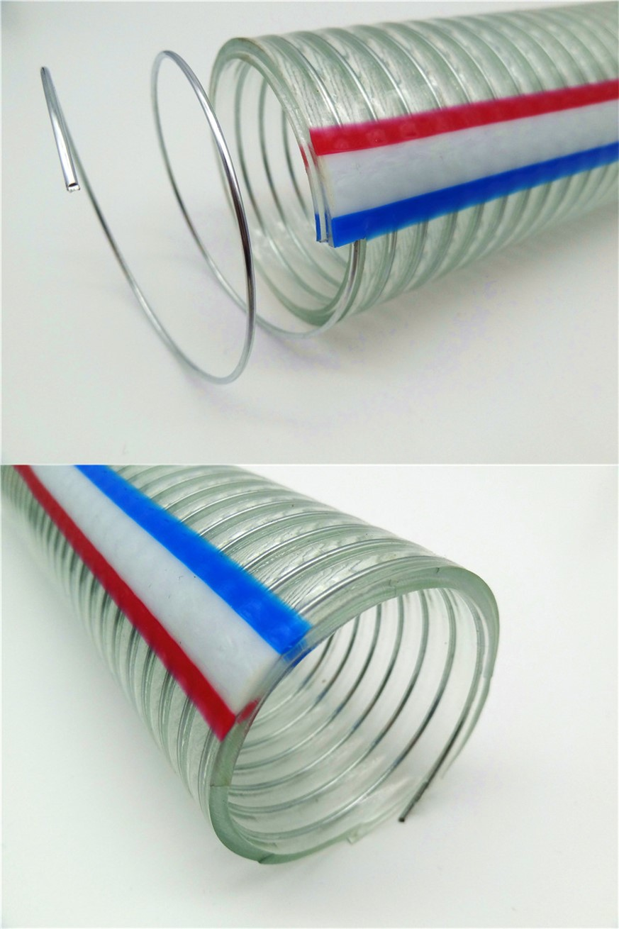 China factory supplied top quality fiber braided antistatic pvc tube hose with wholesale price