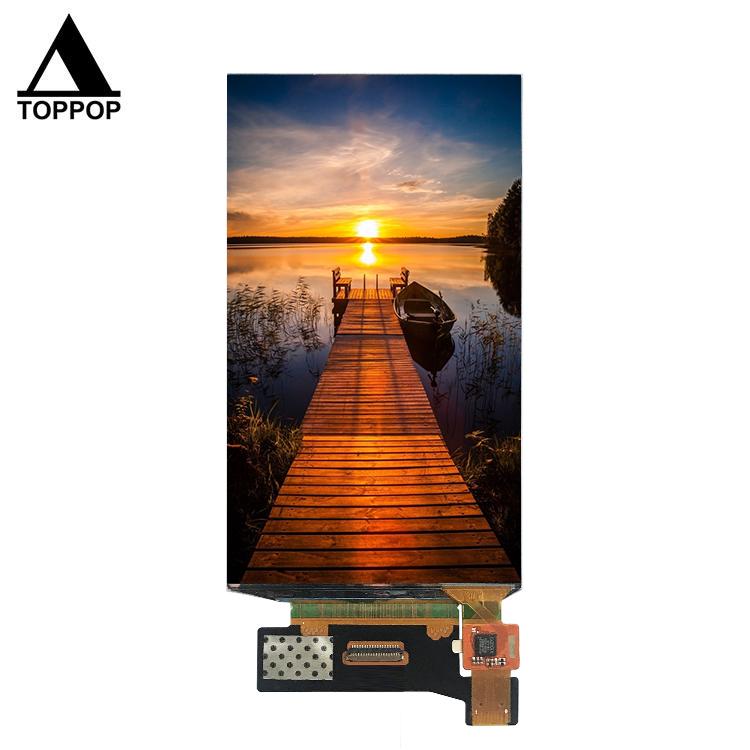 Super Tipis 5.5 Inci 1080P Warna Layar AMOLED 1080X1920 IPS MIPI 4 Jalur OLED Layar Sentuh Modul dengan Layar Sentuh Kapasitif