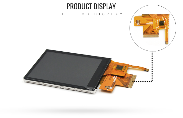 37 Pin TFT LCD Touch Panel 2.8 Inch Color LCD Display 240x320 With MCU Interface