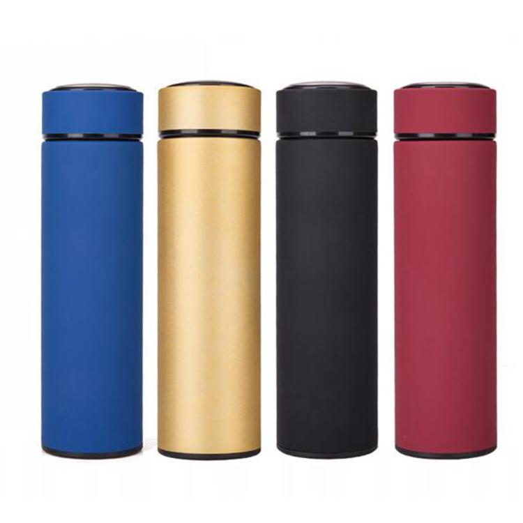 الساخن نموذج المحمولة مزدوجة جدار الشرب 0.5 ltr المياه زجاجة تعبئة VRVFB1457