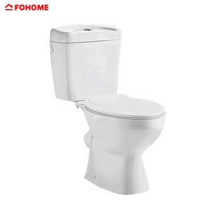 Modern types p-trap washdown two piece cheap floor standing toilet pot
