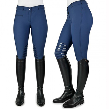 Riding Clothes OEM Factory Custom Silicon Seat Women Close-fitting Horse Riding Tights Leggings
