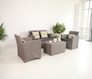 Cheap wholesale latest design sofa set morden outdoor poly rattan garden furniture