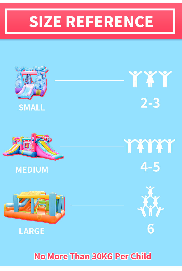 Oxford Enfants D'intérieur Gonflable Ours Animal Videur Maison Bébé Rebond Environ pour La Maison