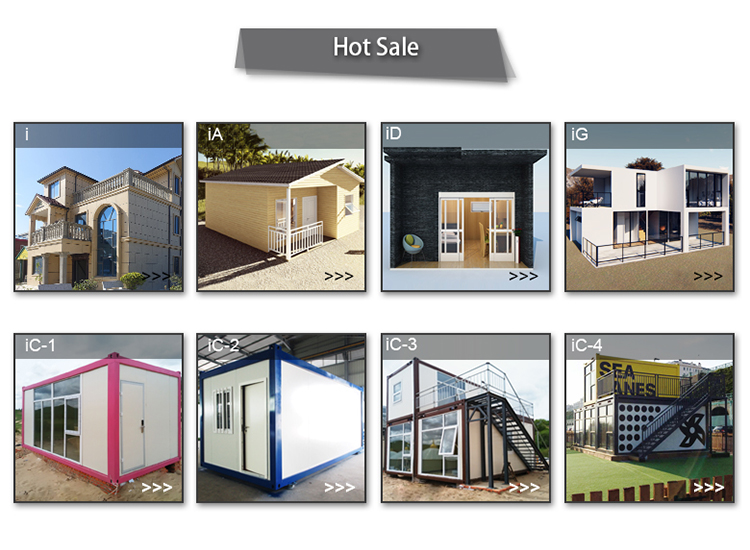 InfiCreation recyclable freight container homes directly sale for carport