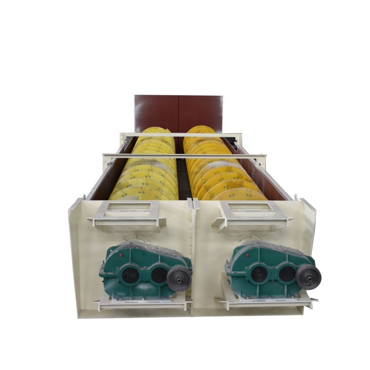 factory supply smaller type gator fine material new condition concrete wheel sand washer for mineral processing