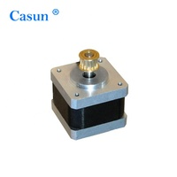 High-precision high quality smoothing hybrid nema 17 stepper motor with pulley for 3D printers
