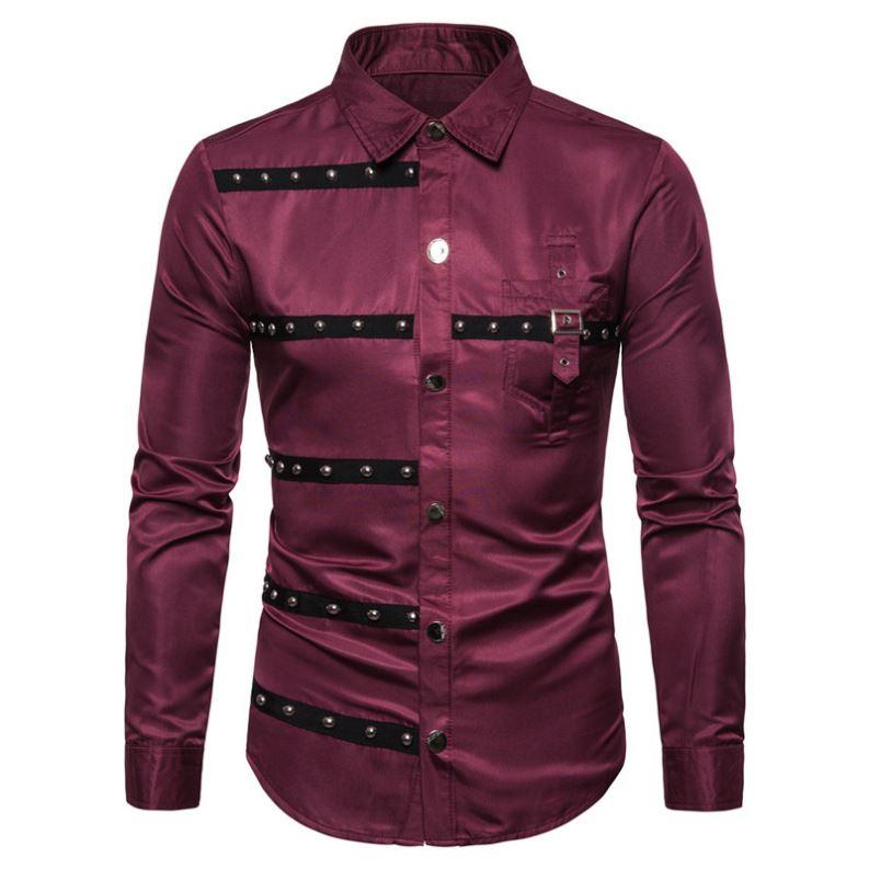 6a32c47be0c5 Venta al por mayor camisas gotica hombre-Compre online los mejores ...