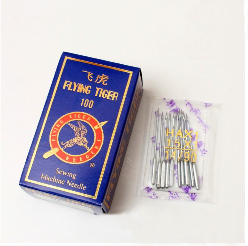flying tigers Industrial flat sewing machine DB*1  Household sewing machine needle HA*1 10pcs/bag