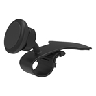 Packaging Customization Car Mobile Phone Mount Holder Strong Magnetic Car Mount Mobile Phone Holder for Car Dashboard No Cradle Design Easy to Release All Smartphones Holder for Car