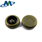 Brass snap button cap snap fastener for leather bags