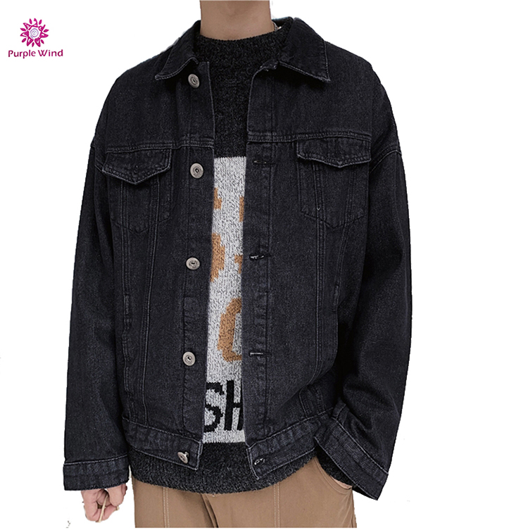 2019 SS19 cotton jeans shirt high quality stock  casual denim shirts men