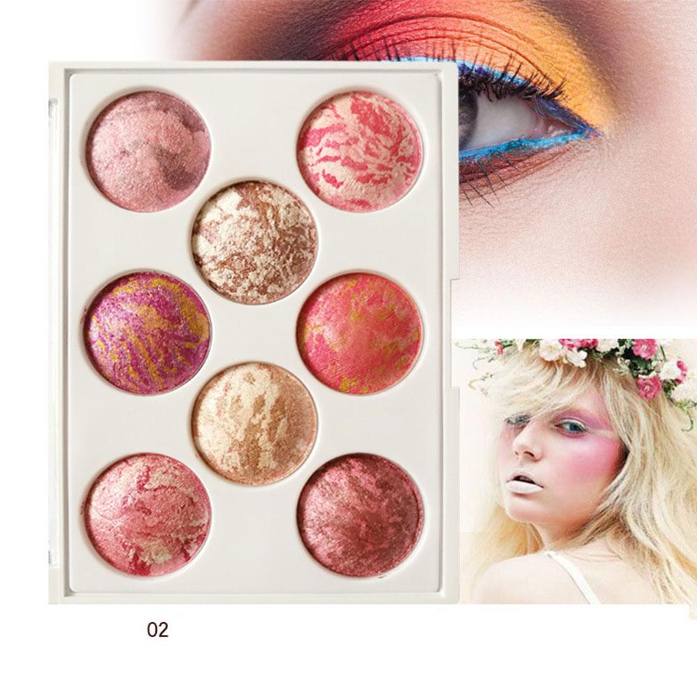 Private Label Vegan Makeup Eye Shadow 8 Colors Eyeshadow Palette Cosmetics