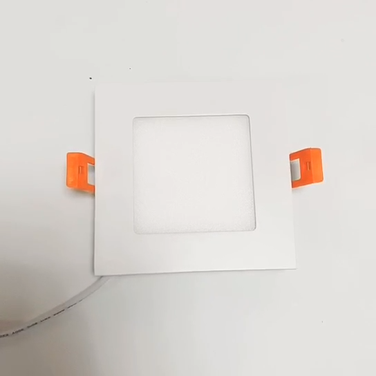 USA free shipping ETL led slim square ceiling panel light led drop ceiling light 4inch 6inch CCT tunable