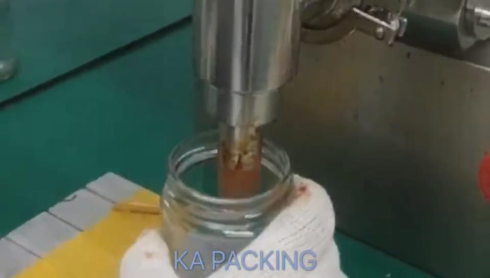 KA אריזה פלסטיק בקבוק מילוי עבור להדביק מילוי הביקבוק ציוד