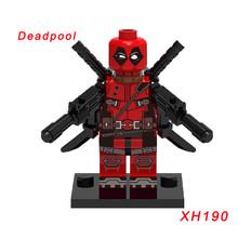 Марвел Росомаха Жан Грей Саммерс фигурки Робин Дэдпул X-men Super Hero классические строительные блоки игрушки(Китай)