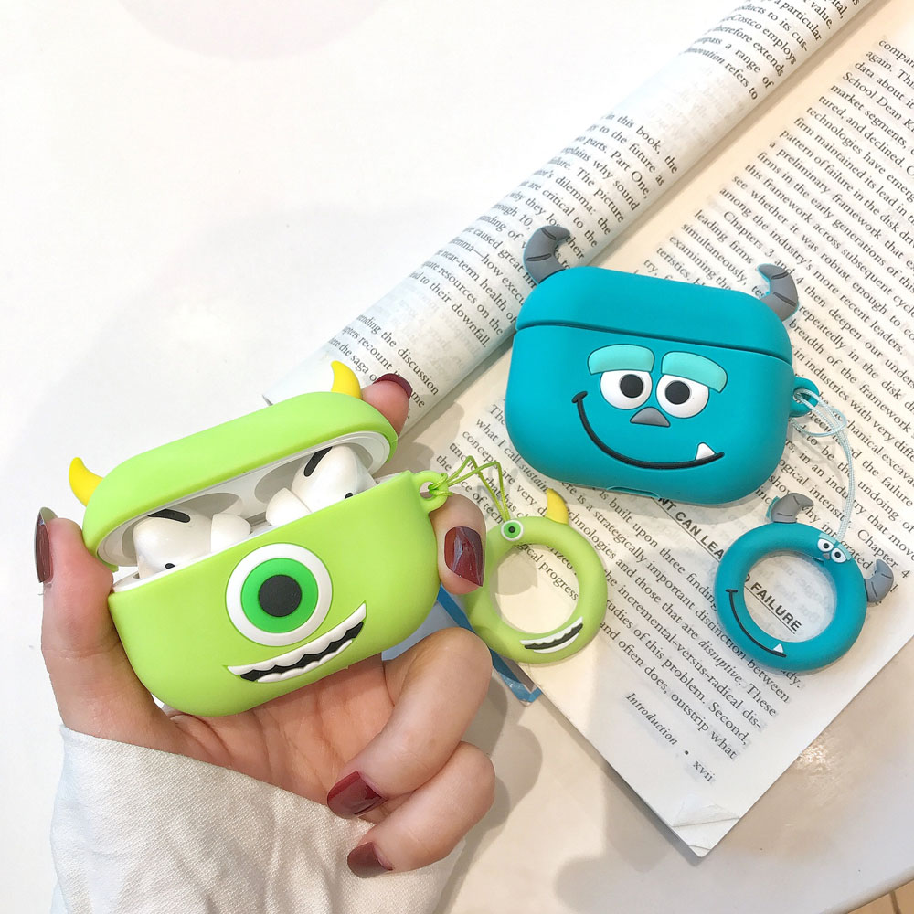 3D Cartoon Cute for AirPods Pro Case Cover Soft Silicone Earphone <strong>Accessories</strong> for AirPods pro 3rd generation