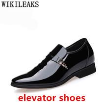 Дизайнерские Роскошные брендовые Мужские модельные туфли с острым носком; Мужские черные туфли из лакированной кожи; Свадебные модельные т...(Китай)