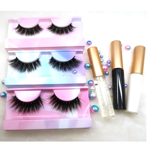 worldbeauty Wholesale Custom Eyelash Packaging 3d Silk PBT Fiber False  Eyelashes Soft Long Faux Mink Eye Lashes